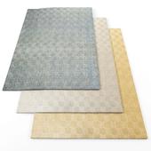Geometric Striped rugs1