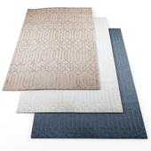 Geometric Striped rugs2