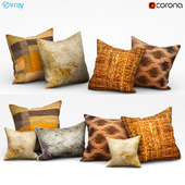 Set of decorative cushions (Set 076).