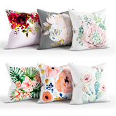 Flowers_Pillow_Set_001_Society6