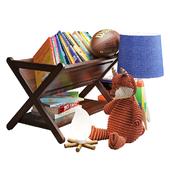 crate&barrel декоративный набор для детской 002