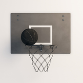 SPANST Basketball hoop and ball (IKEA)