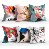 People_Pillow_Set_Society6