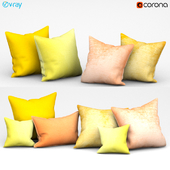 Set of decorative cushions (Set 077).