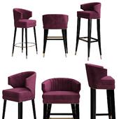 Ibis bar chair by Brabbu