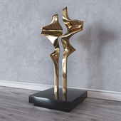 Joseph Burlini Sculpture Flight Figure