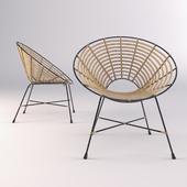 Dutchbone KUBU ROUND chair
