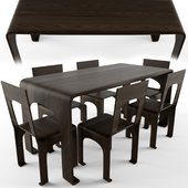 Table chair set_8