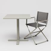 Emu Directors Chair And Darwin Table