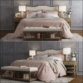 Pottery Barn Claremont bed