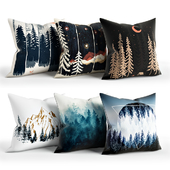 Woods_Pillow_Set_Society6
