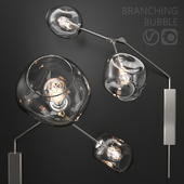 Bra Branching bubble by Lindsey Adelman Clear/silver