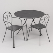 emu CAPRERA chairs PIGALLE table