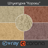 """Facade plaster """"Coroed"""" type 1, part 2"""