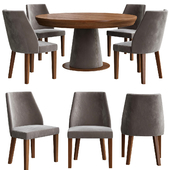 Dining Table by Alberta Pacific Furniture