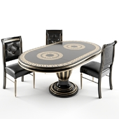 gothic dining table chair GREEK
