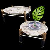 MAISON LACROIX - FINITION ONYX COCKTAIL TABLE