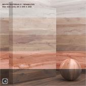 Material wood / veneer (seamless) - set 26