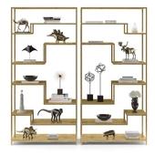 Mansfield Bookcase Decor Set
