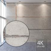 Concrete wall 405