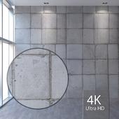 Concrete wall 406