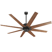 Predator English Bronze Outdoor Ceiling Fan