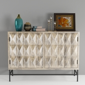 Natural Beige Buffet with Storage