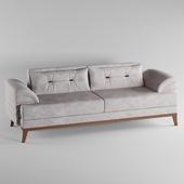 Perla Furniture's Madrid CollectionEuro-Americana style chic living room sofa