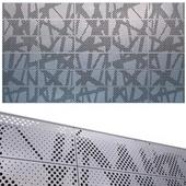 perforated metal panel N1