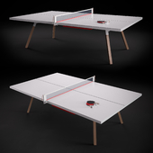 Gessato ping pong table