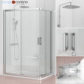 Asymmetric shower enclosure Ravak | 10