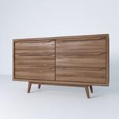 Janeiro_Mango wood vintage sideboard