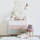 Pink decorative set - Maisons du Monde