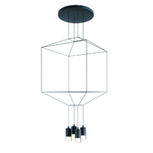 VIBIA WIREFLOW CHANDELIER 0311 LED SUSPENSION LAM