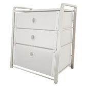 Chest of 3 drawers IKEA LOTE
