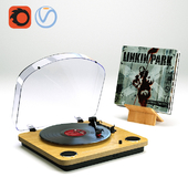 turntable vinyl record player ION