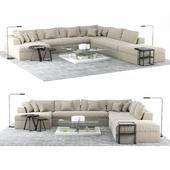 Meridiani Modular Sofa