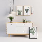 Aquarel decorative set