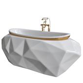 Maison Valentina Bath White