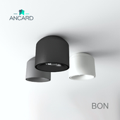 Lamp of the BON series from Ancard