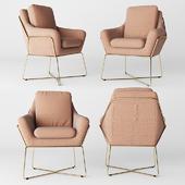 Milan Velvet Armchair