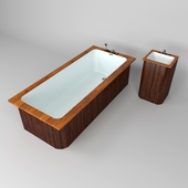 Bath and washbasin model