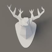 Deer from paper