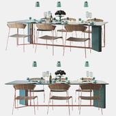 Meridiani PLINTO | Table + Handmade Tableware