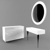Комод и туалетный столик Cloud от Огого-обстановочка