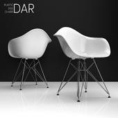 Eames DAR plastic side chair