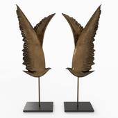 Wings sculpure decor