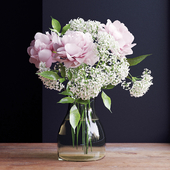 Bouquet of flowers in a vase 23