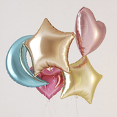 Felted helium balls
