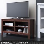 IKEA BRUSALI TV stand